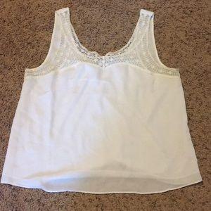 White tank top blouse